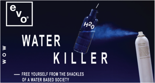Water Killer evo dry shampoo