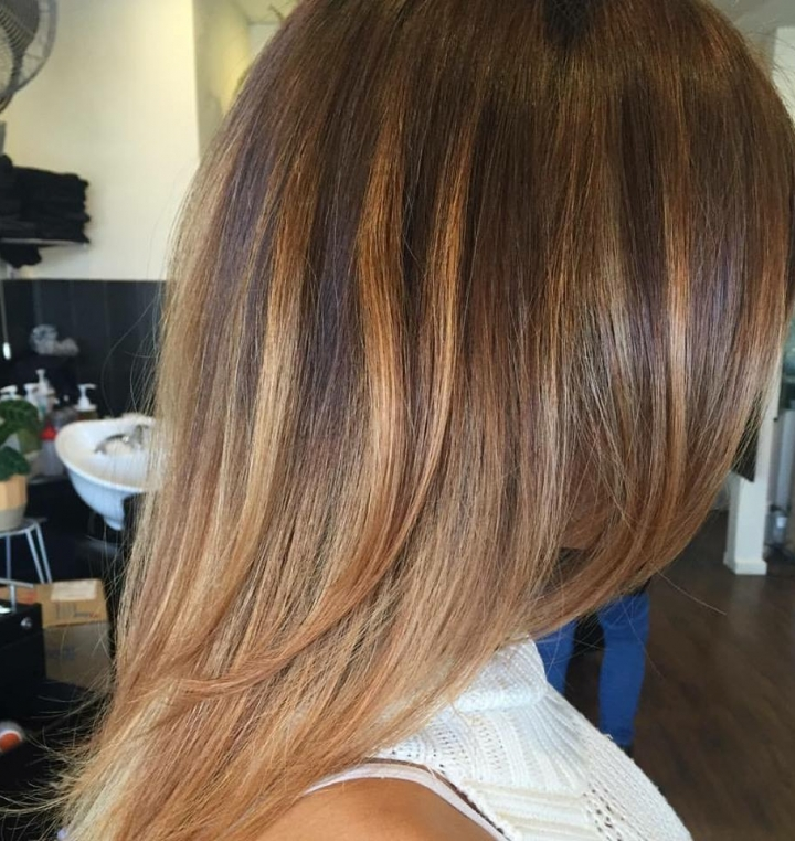 Olaplex magic gives texture and tone
